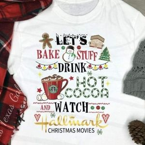 Let's Bake Stuff Drink Hot Coco...watch Hallmark